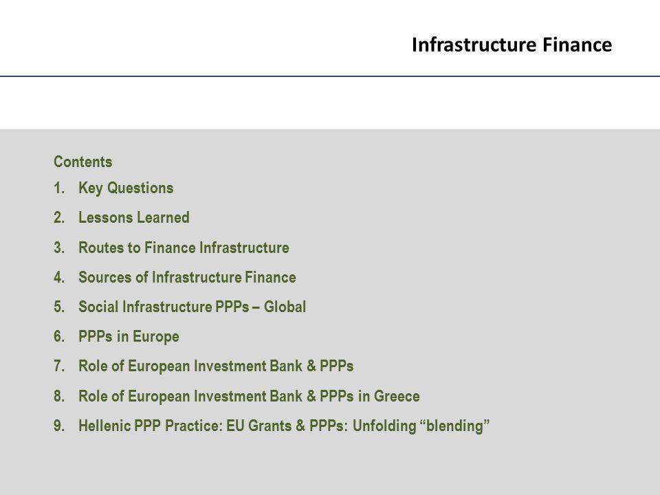 Variants of EU blending & PPP 1.Non- Revenue DBFO - JESSICA & EIB 2.