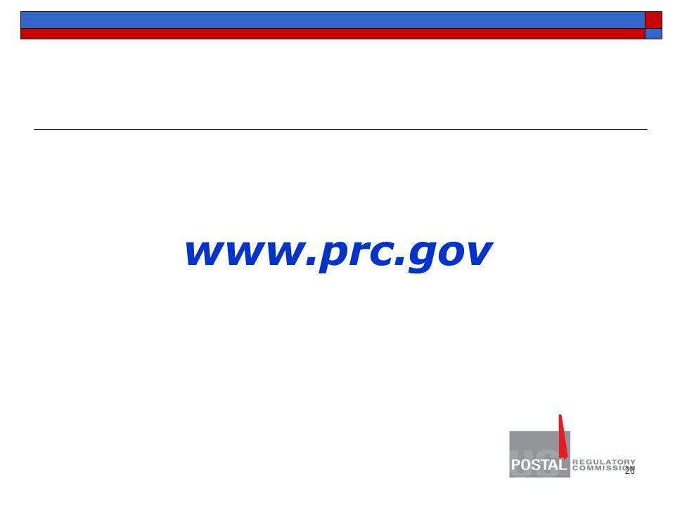 www.prc.gov 26
