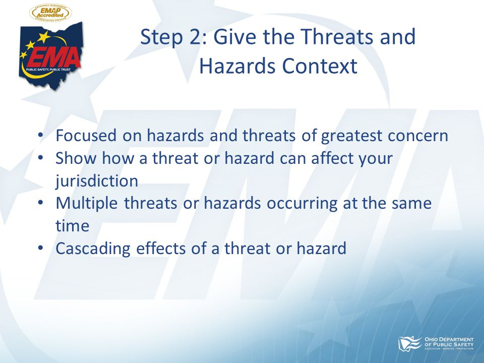Step 3: Examine the Core Capabilities Using the Threats and Hazards