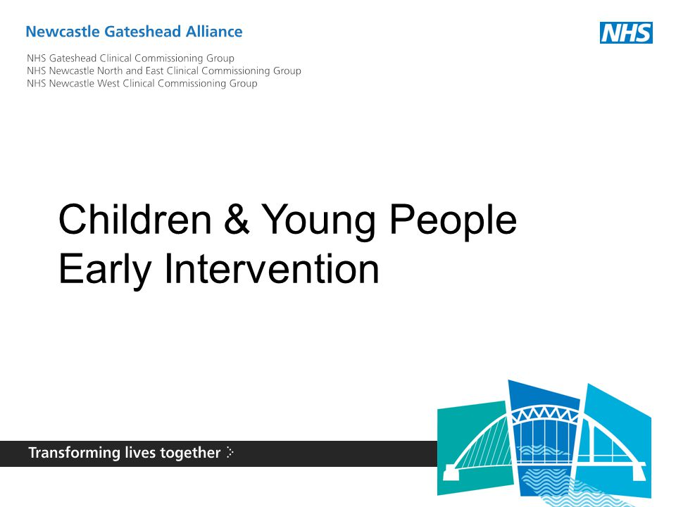 Children & Young People Early Intervention