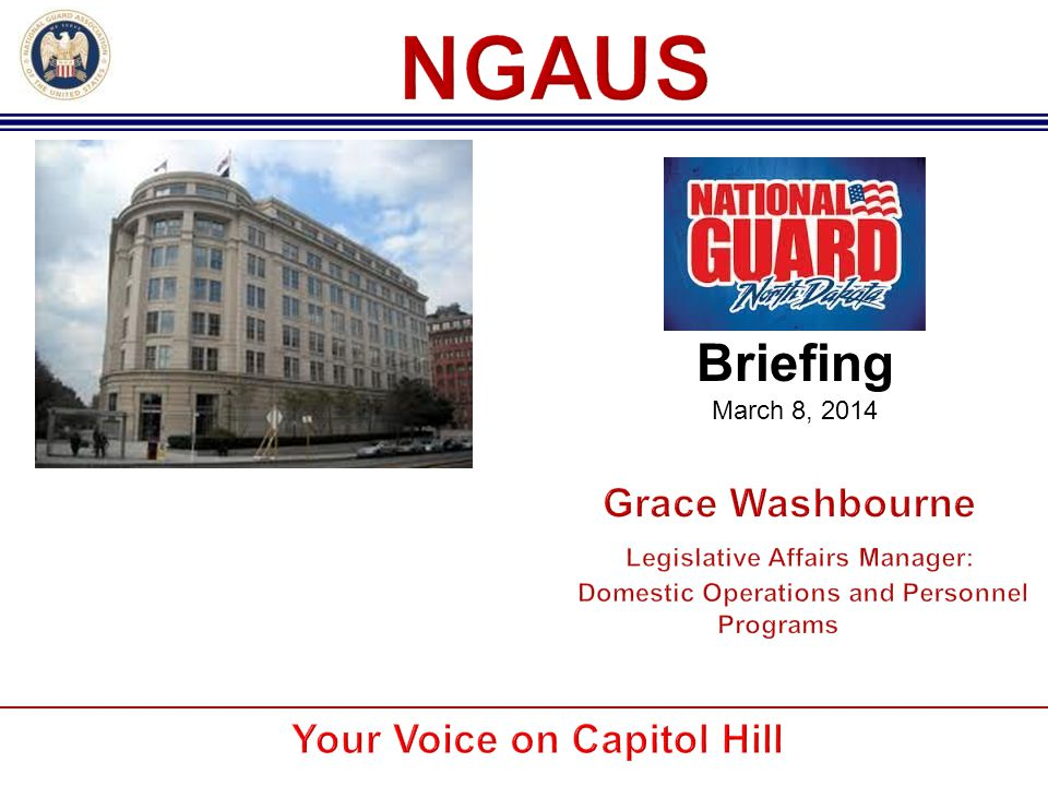 NGAUS was formed by militia officers in 1878 to obtain better equipment and training by petitioning Congress for more resources.