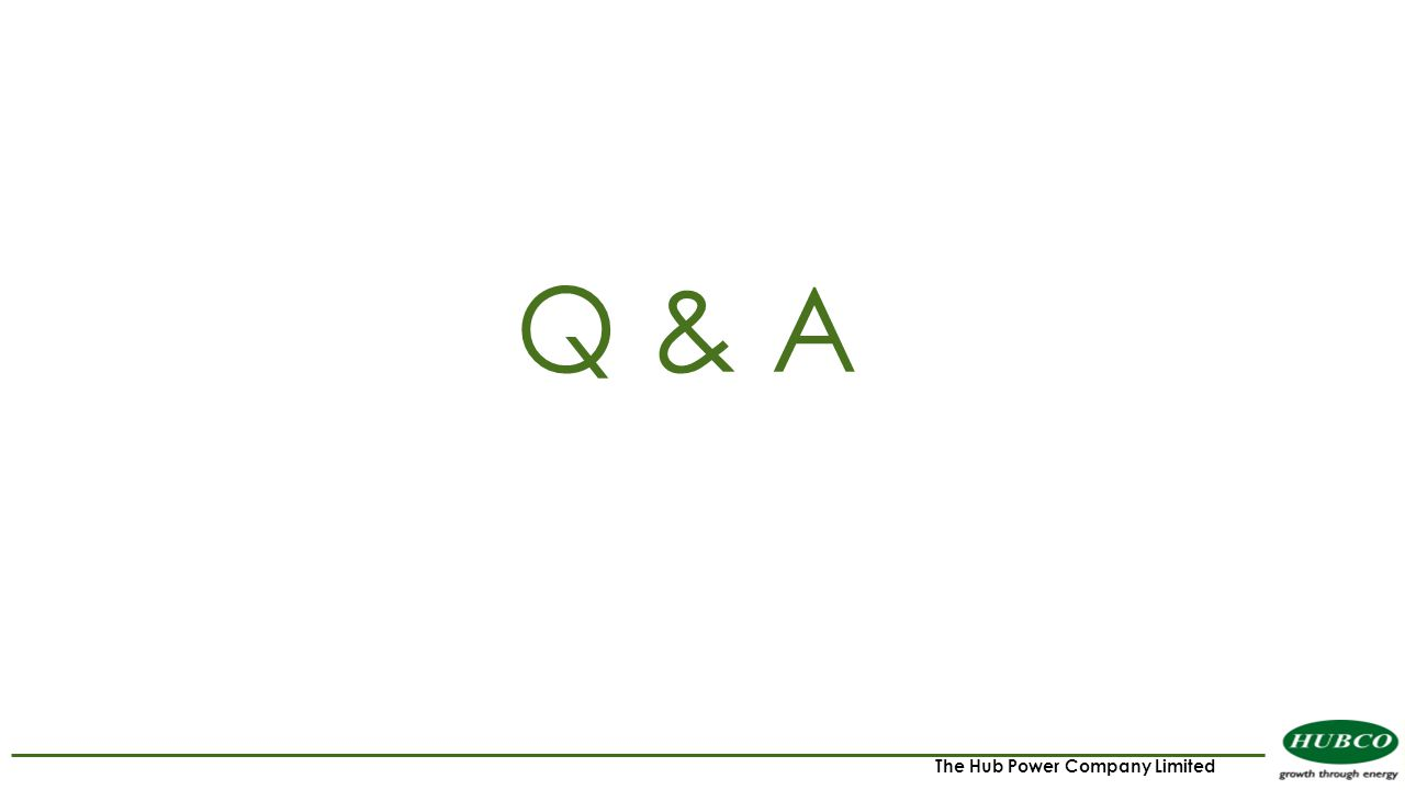 The Hub Power Company Limited Q & A