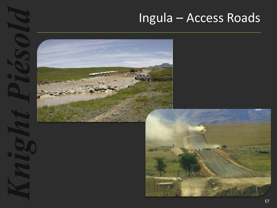 17 Ingula – Access Roads