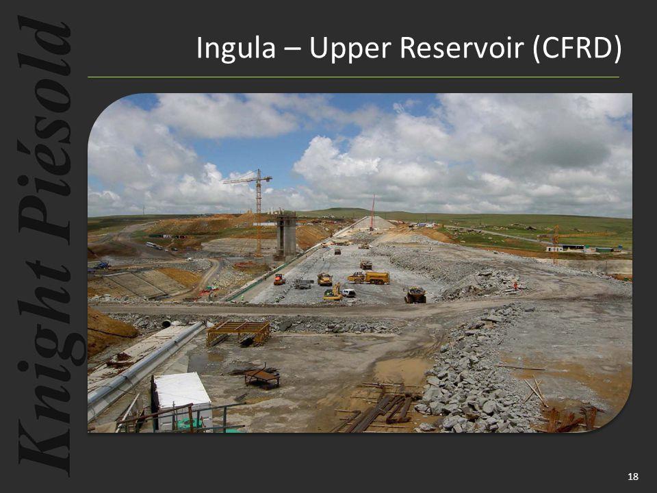 18 Ingula – Upper Reservoir (CFRD)