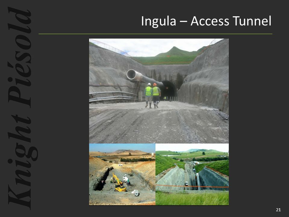 21 Ingula – Access Tunnel