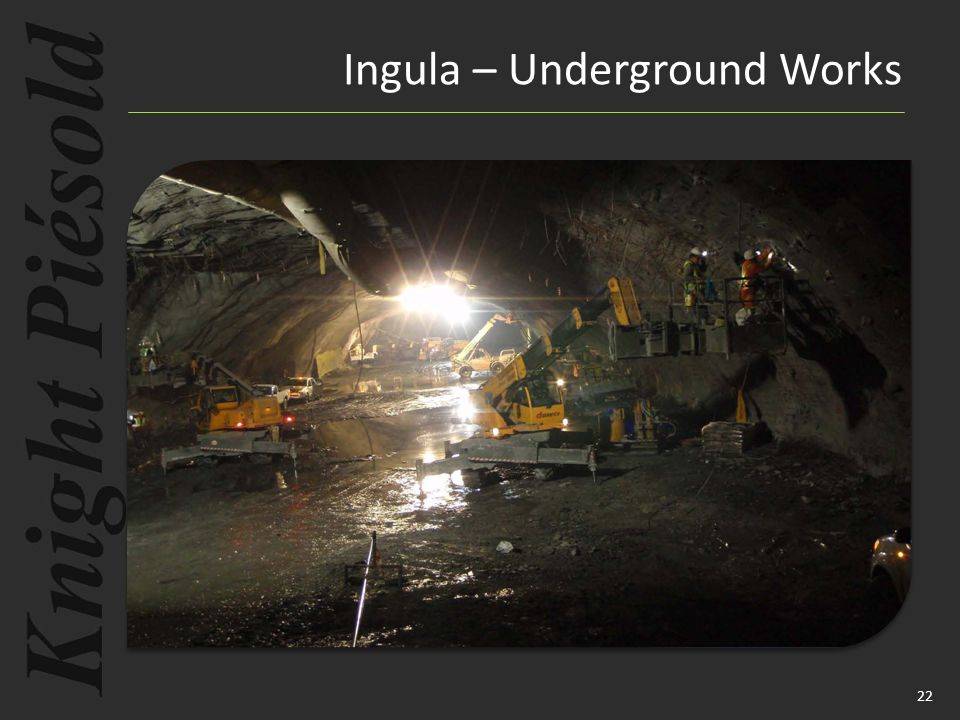 22 Ingula – Underground Works