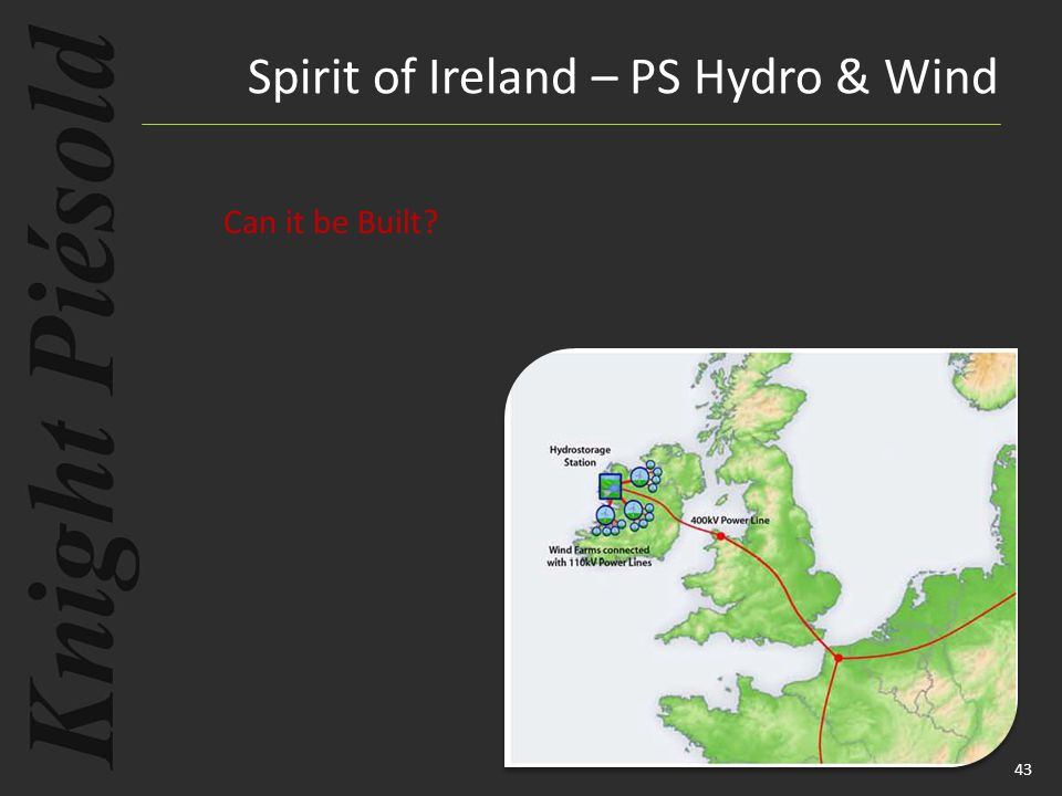 43 Spirit of Ireland – PS Hydro & Wind Can it be Built?