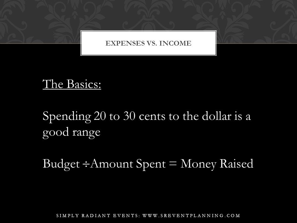 EXPENSES VS.