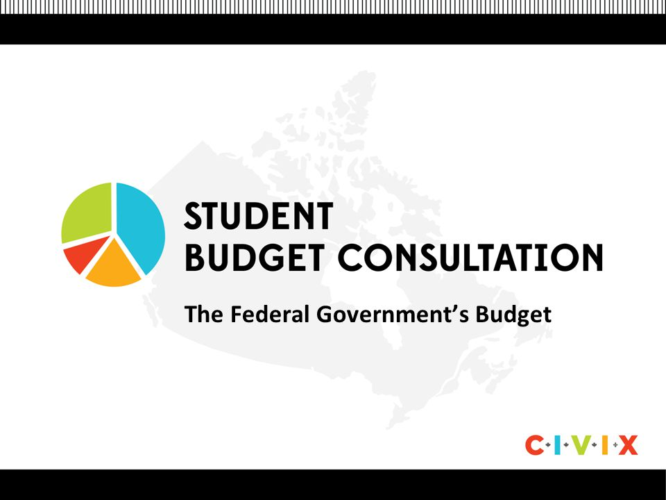 The Federal Government's Budget