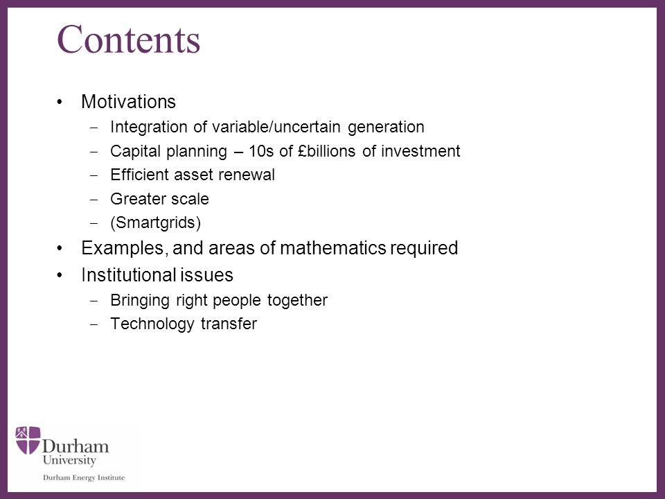 ∂ UK skills in mathematics of energy systems e.g.