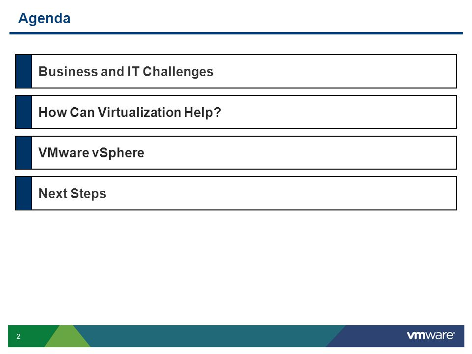23 VMware Virtualization Delivers Business Value Within two years, Ducati infrastructure went from zero-to-98% virtualized, all with no down time and supporting a 3x increase in production.