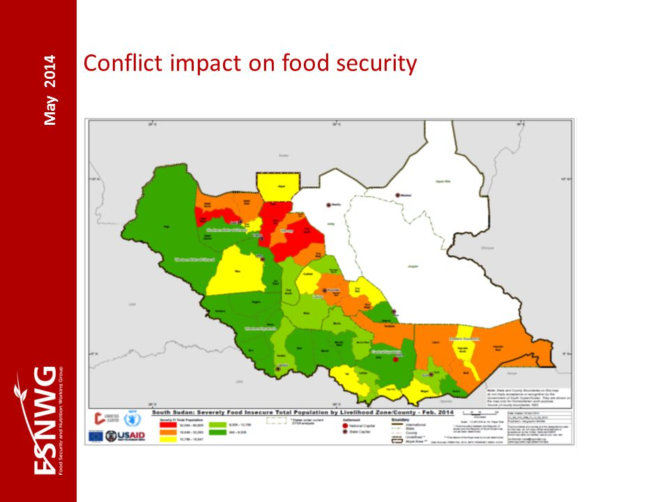 May 2014 Conflict impact on food security