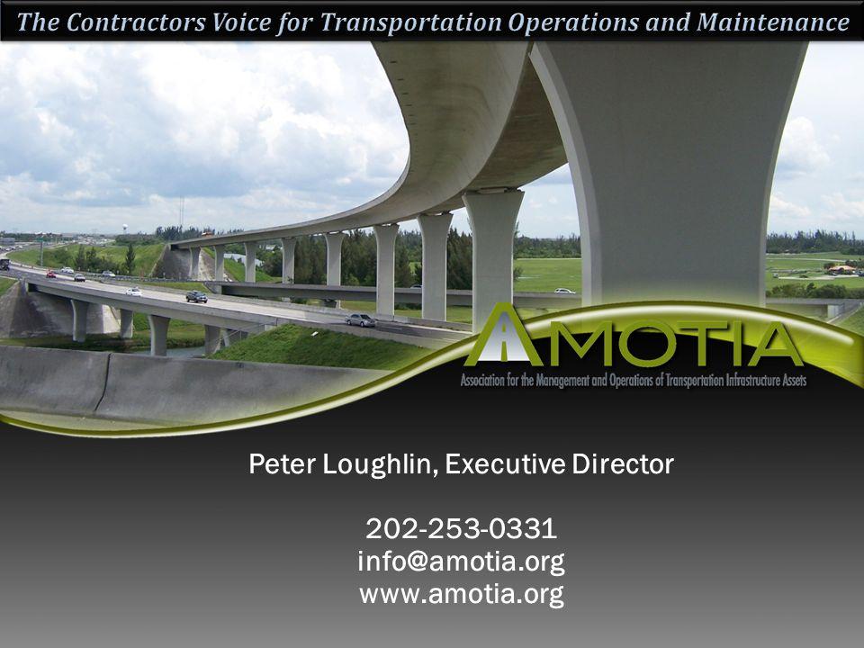 Peter Loughlin, Executive Director 202-253-0331 info@amotia.org www.amotia.org