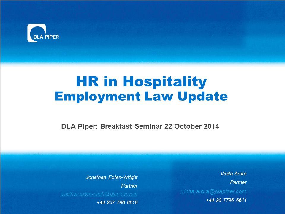 Agenda  Holiday pay  Shared parental leave Breakfast Seminar 22 October 2014 2