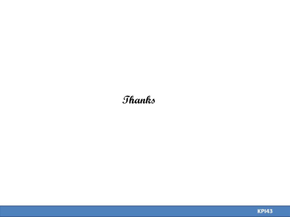 Thanks KPI43