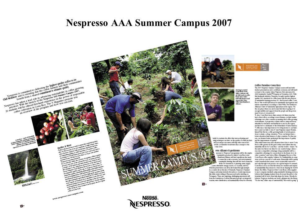 Nespresso AAA Summer Campus 2007