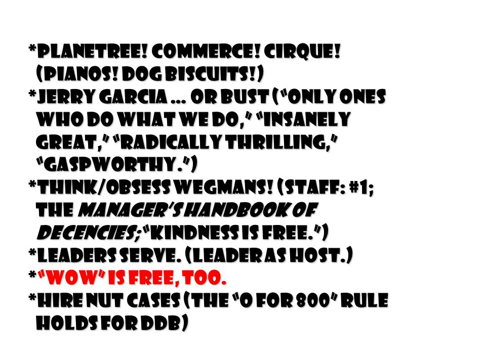 *Planetree. Commerce. Cirque. (Pianos. Dog biscuits!) (Pianos.