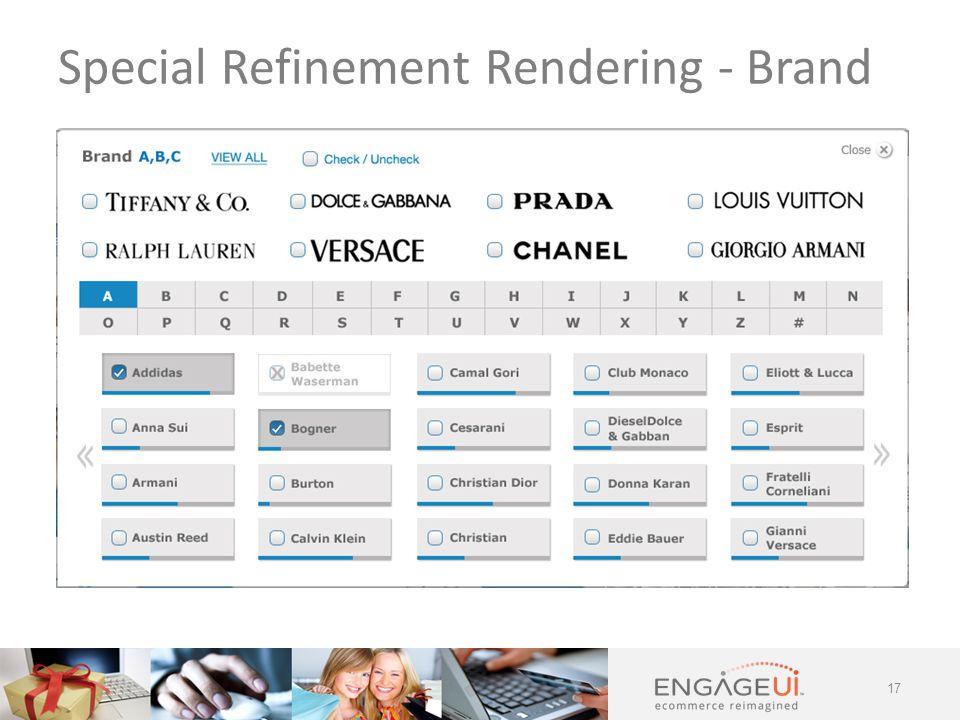 17 Special Refinement Rendering - Brand