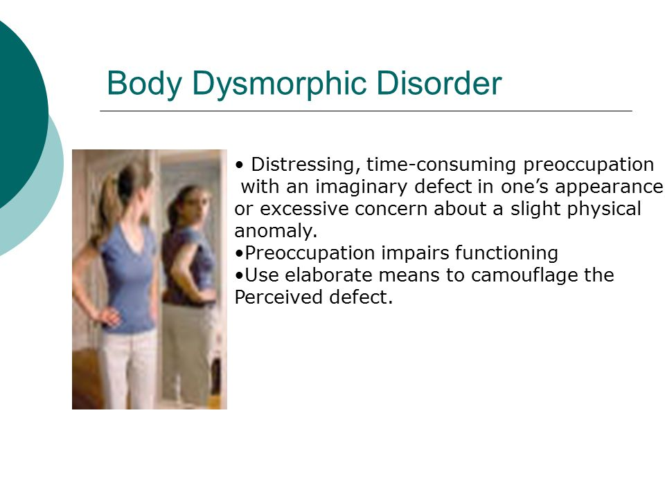 Body Image and Disordered Eating Negative body image can (but not always) lead to disordered eating.