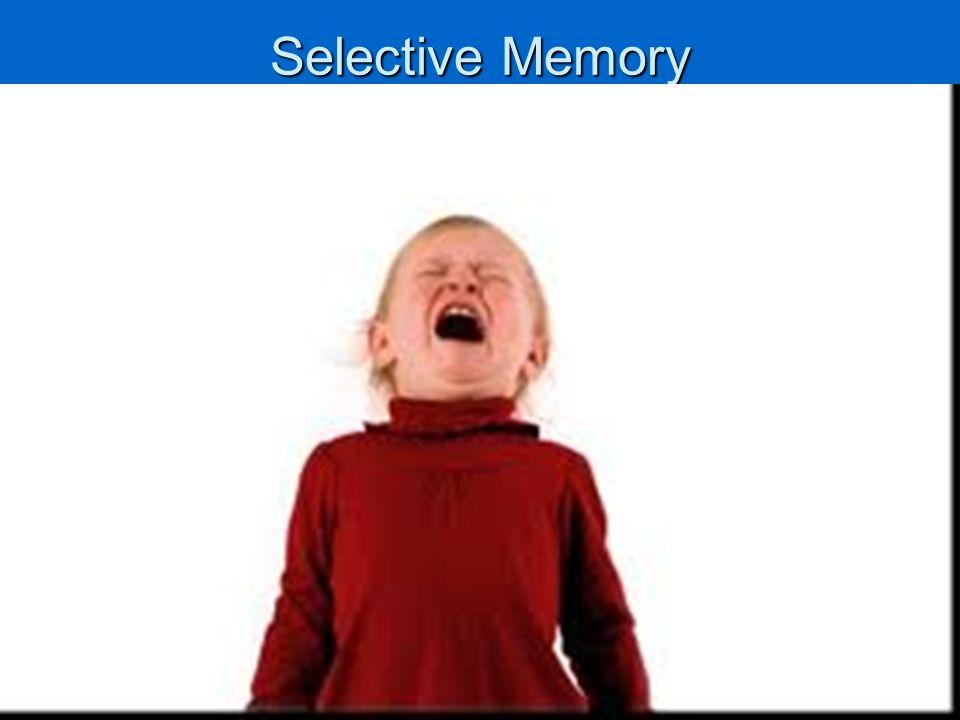 Wedbush Securities - Don Collins Selective Memory