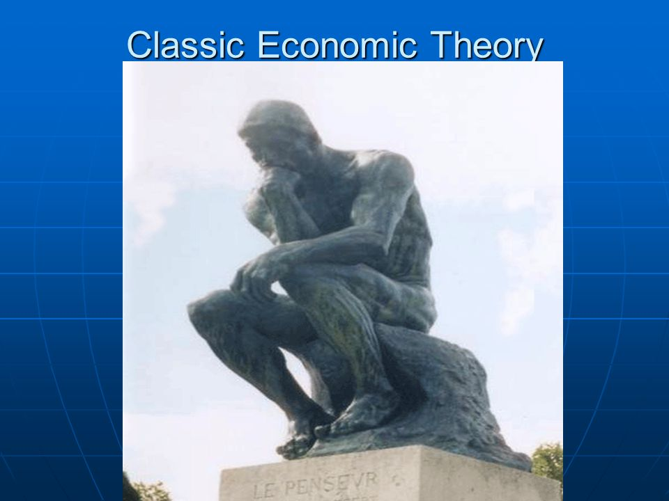 Wedbush Securities - Don Collins Classic Economic Theory