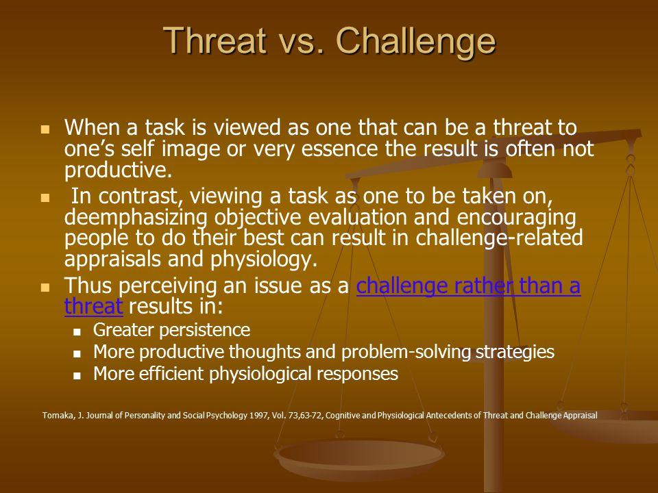 Threat vs.