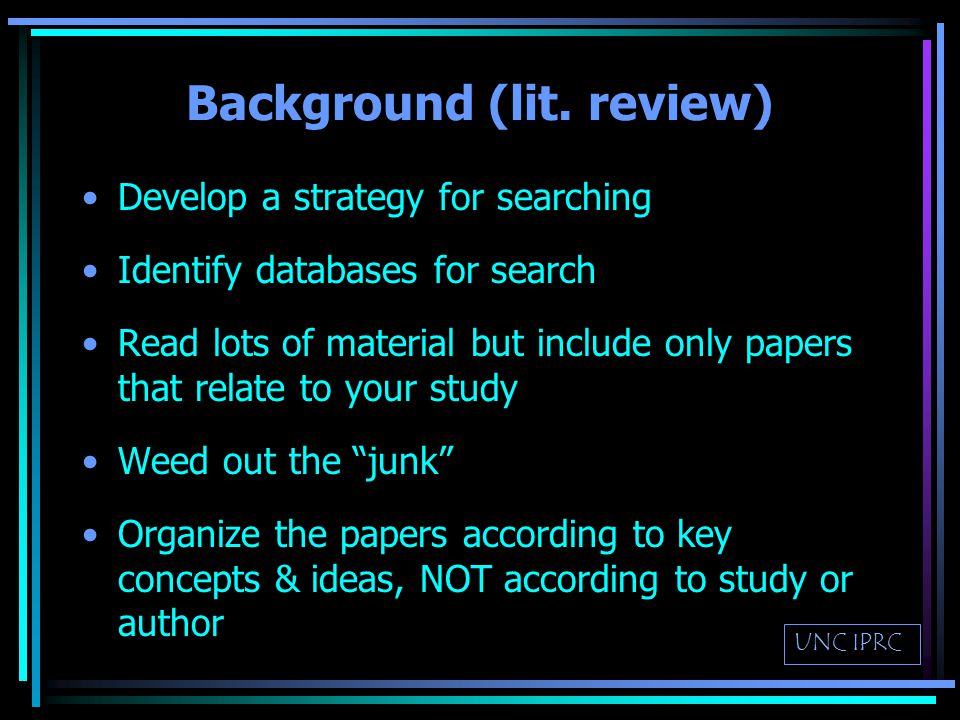 Background & Significance Why is this research or program important (i.e.