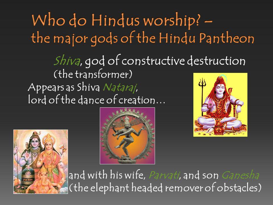 Vishnu, the preserver god :