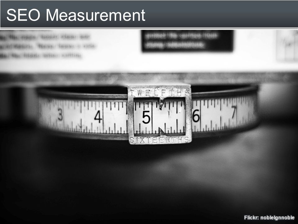 SEO Measurement