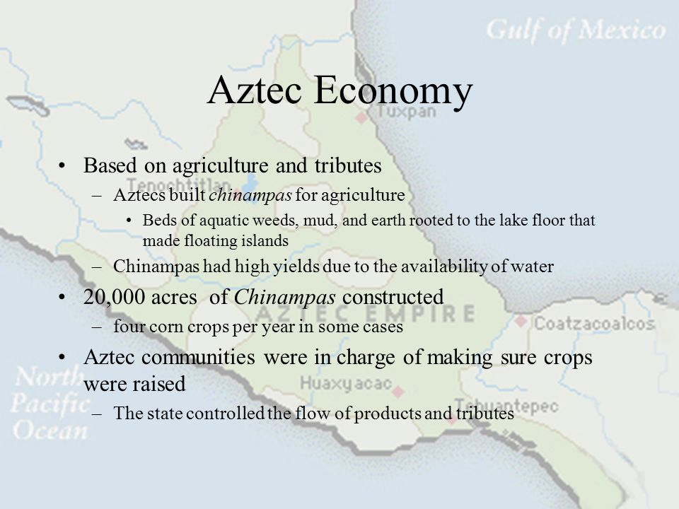 Aztec Political Breakdown City-State rule –City-states ruled by a speaker of nobility status –Reported to the Great Speaker in Tenochtitlan Great spea