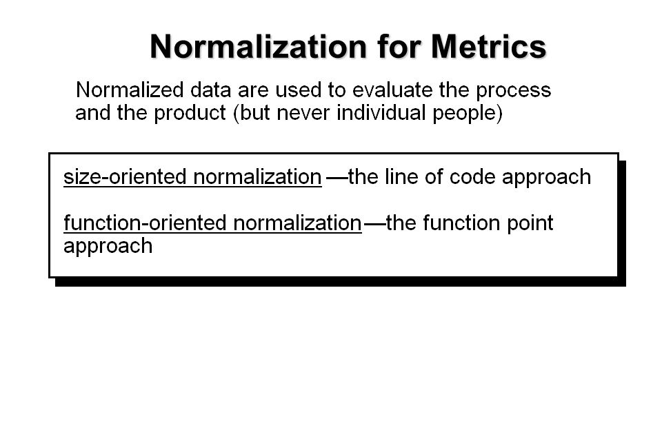 12 Normalization for Metrics