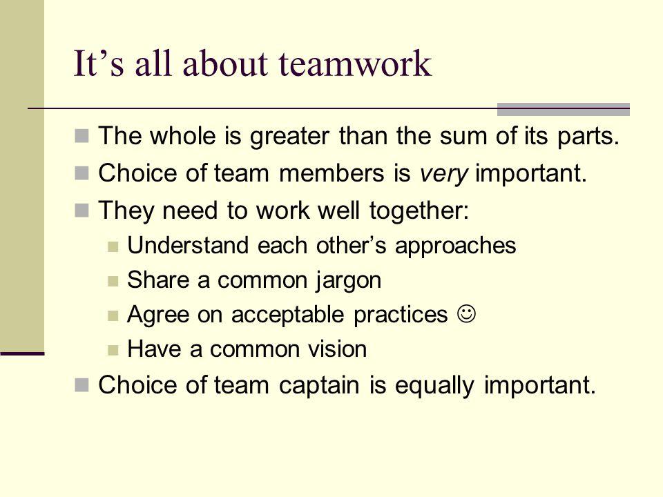 The team captain Team captains manage their teams.