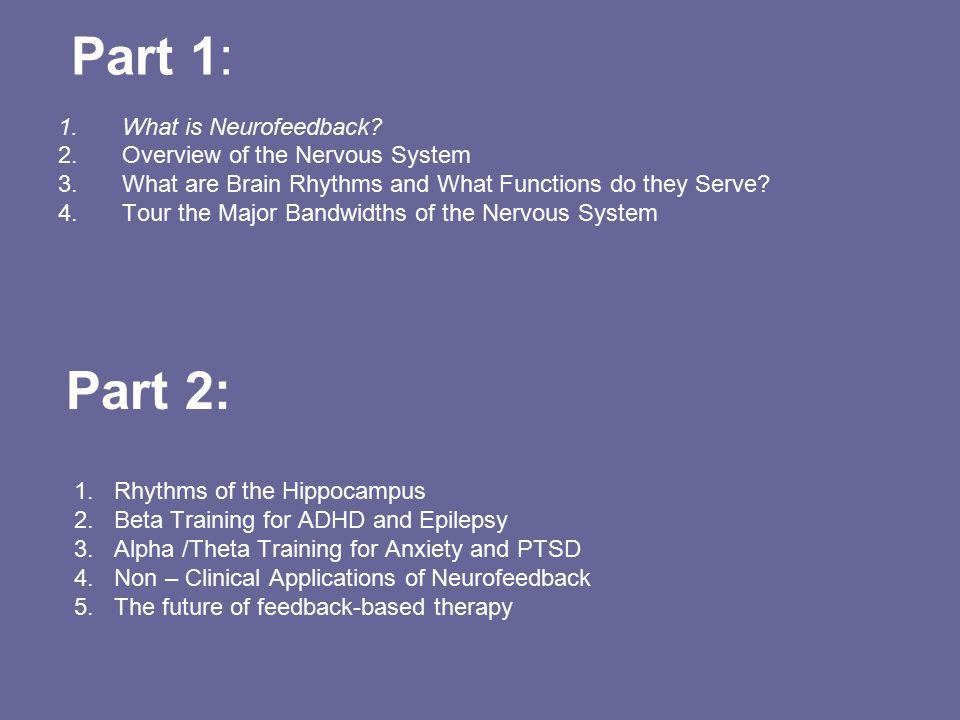 Alpha / Theta Training 1.PTSD, Anxiety, Depression, Rage, Addiction, BDD and Anorexia.