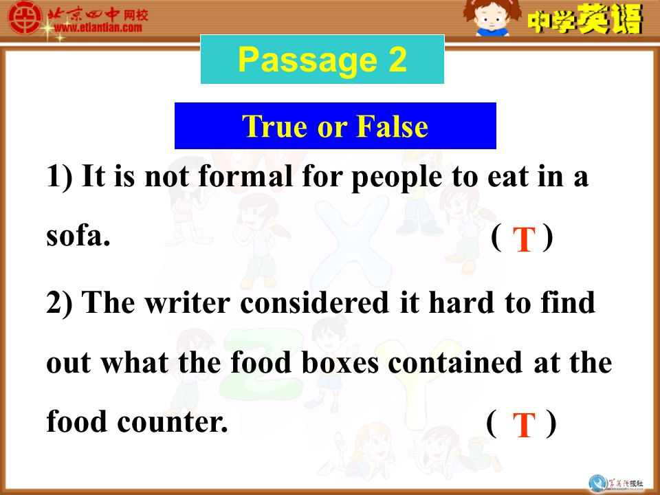 Answer the questions 1.What mistake did the writer make at the Chinese Banquet.