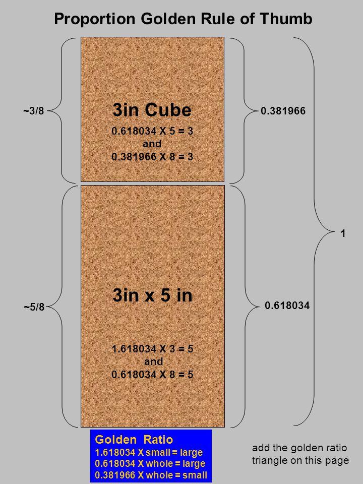 a d c e m midpoint of dc b f fc is to dc as 1 is to 1.618