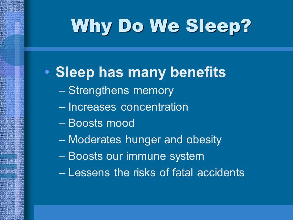 Why Do We Sleep.