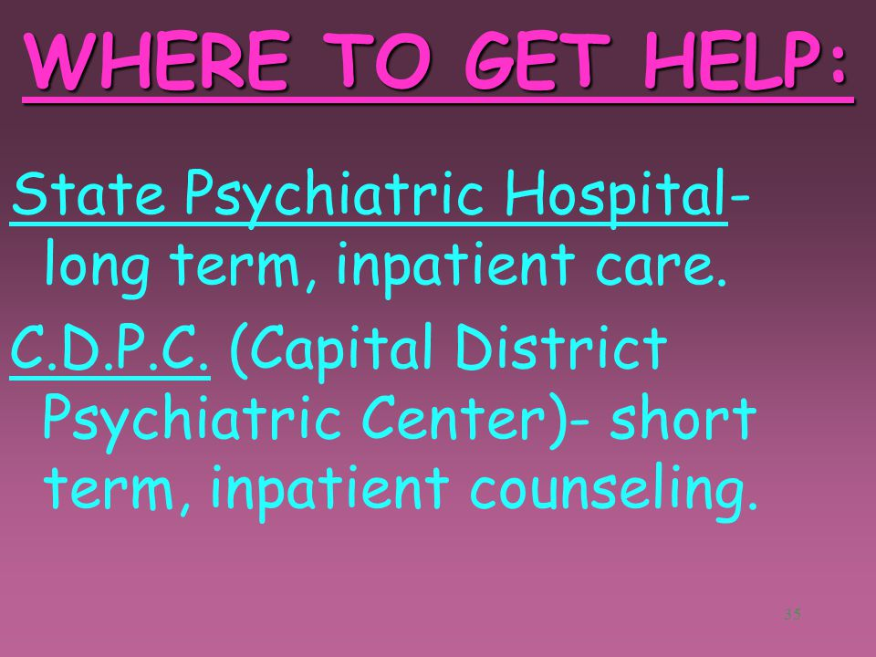 34 SOURCES OF HELP: 11 Psychiatrist: B.S., M.D.; counsel, give tests, prescribe medication for emotional problems. ($150-200) Psychologist: B.S., M.S.