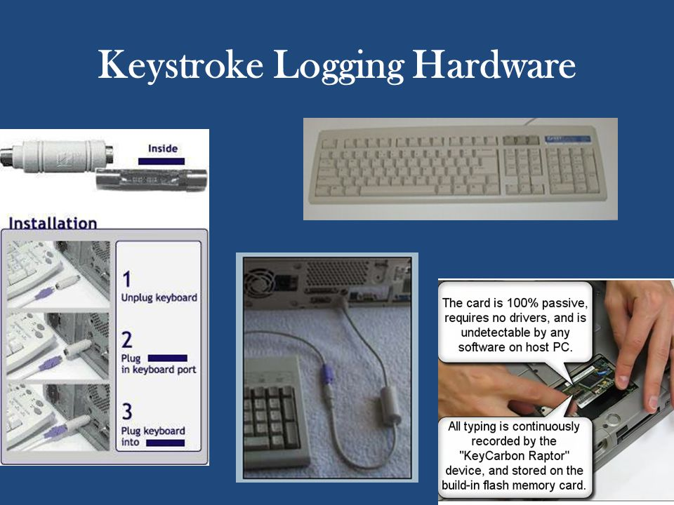 Keystroke Logging Hardware