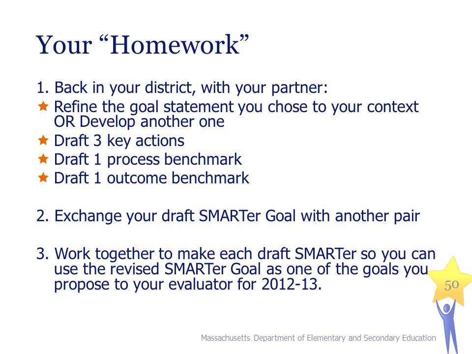 50 Your Homework 1.