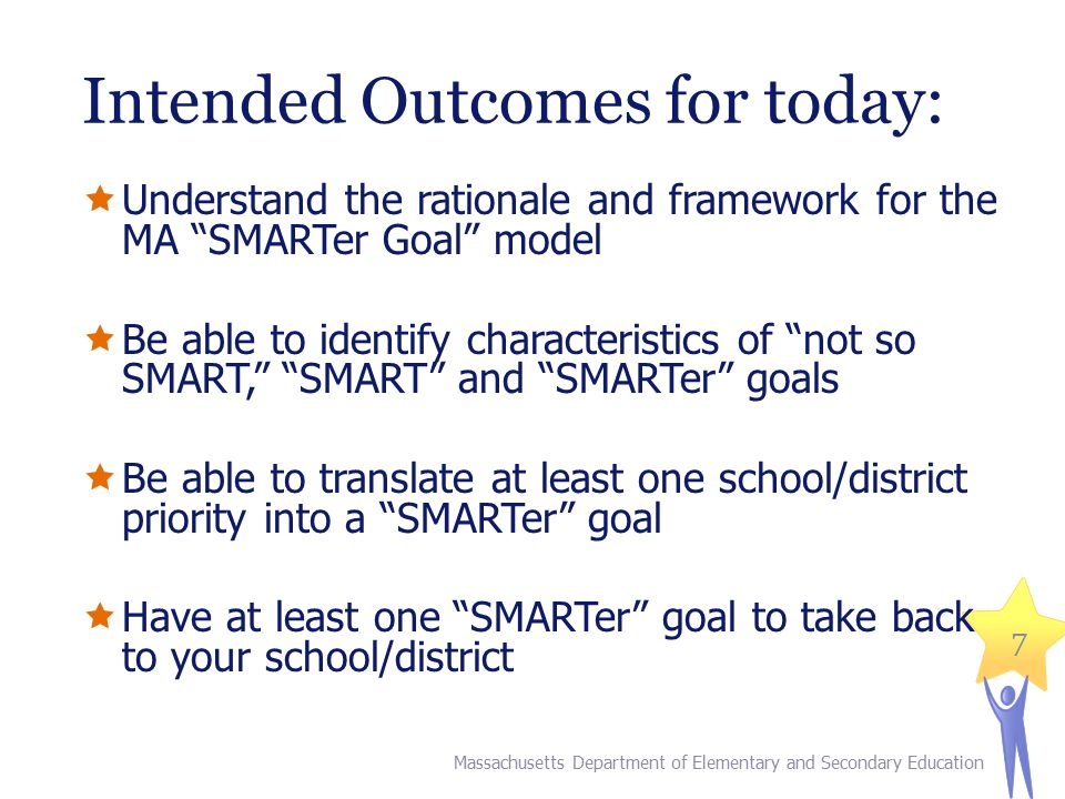 18 Rubrics as a Starting Point for Setting Goals Massachusetts Department of Elementary and Secondary Education