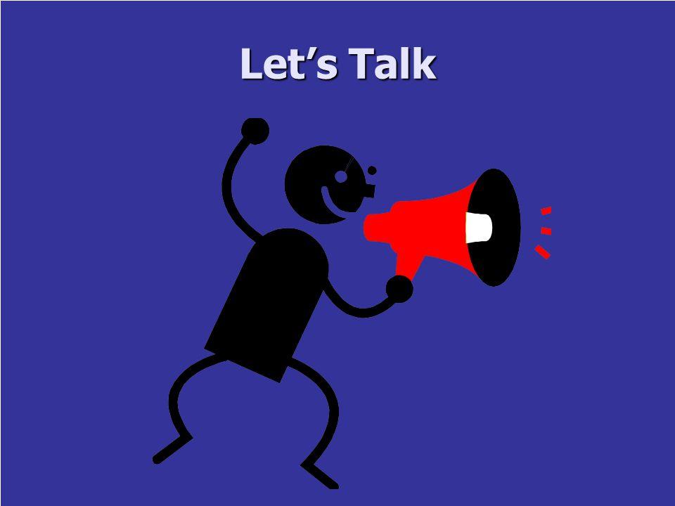 10 Let's Talk