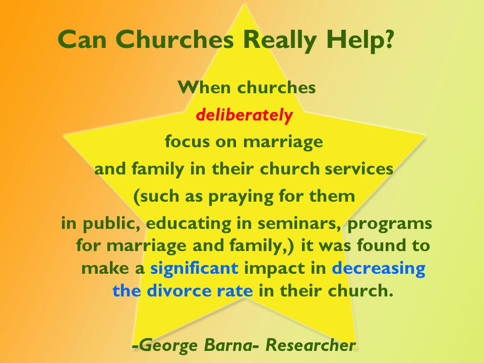 Can Churches Really Help.