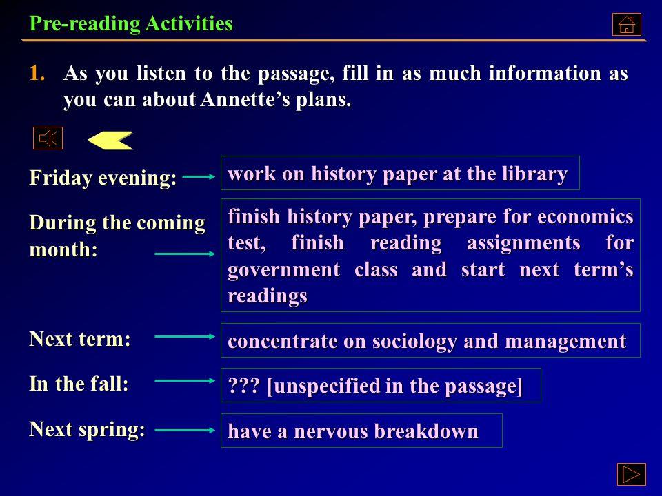 Pre-Reading Activities Pre-Reading ActivitiesPre-Reading ActivitiesPre-Reading Activities Text A: Language Points Text A: Language PointsText A: Language PointsText A: Language Points Exercises ExercisesExercises Assignment AssignmentAssignment College Pressure Unit 4 Part A