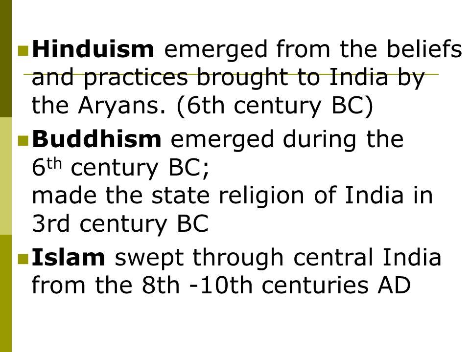 Hinduism – Map.