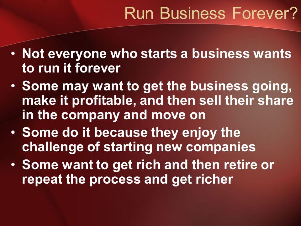 Run Business Forever.