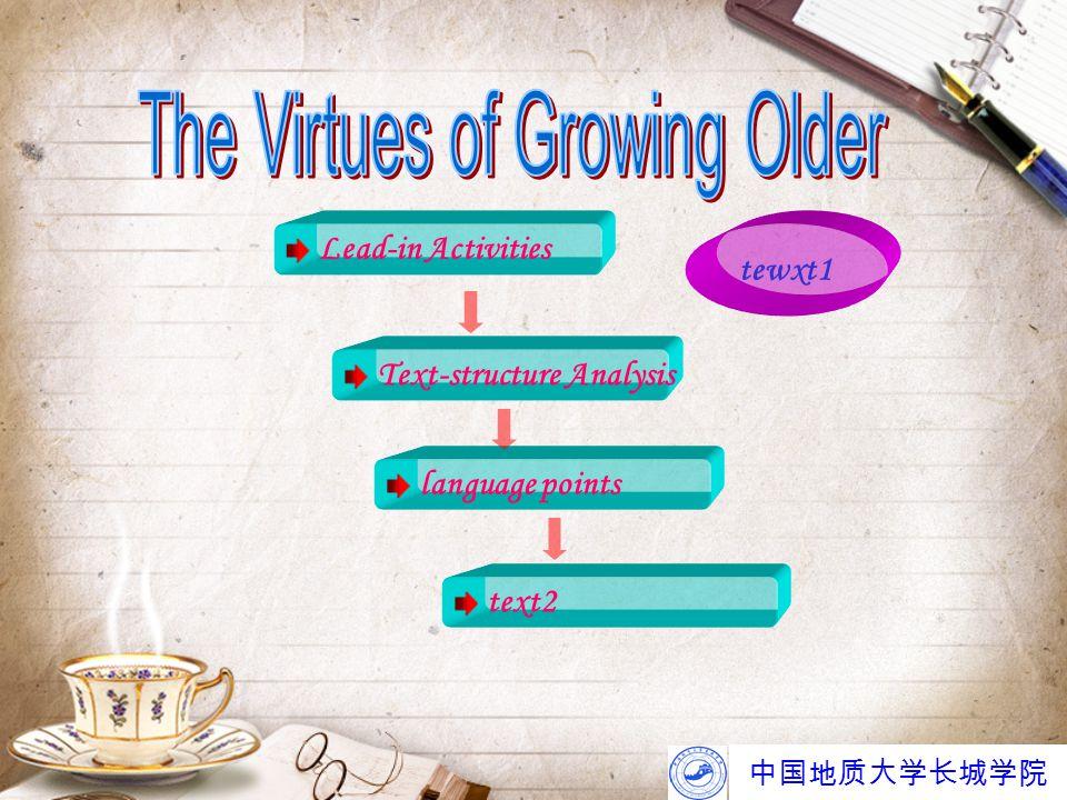 中国地质大学长城学院 10.await vt. wait for 等待 (it is a vt.!!!) e.g.