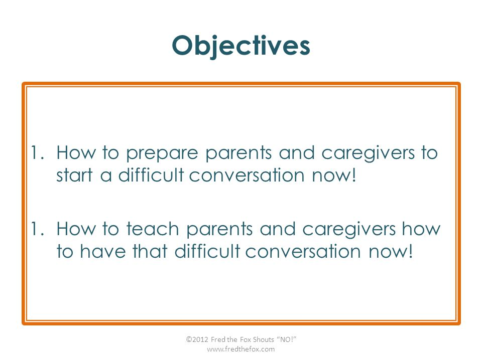 Encourage Caregivers to Create a Culture of Empowerment and Respect.
