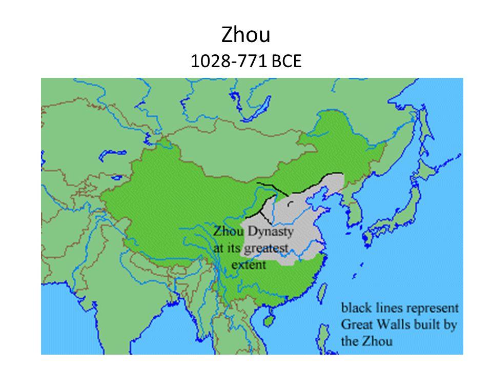 Zhou 1028-771 BCE