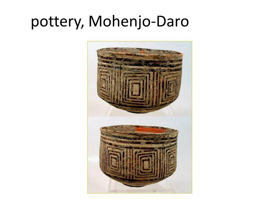 pottery, Mohenjo-Daro
