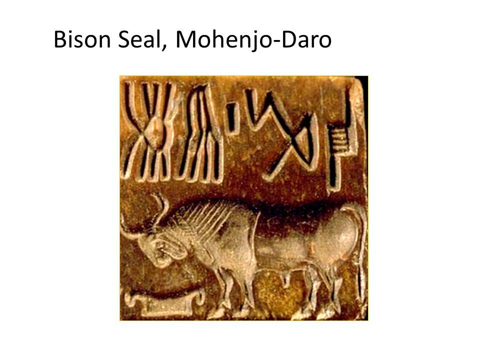 Bison Seal, Mohenjo-Daro